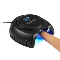 60W UV LED Nail Lamp Nail Dryer Gel Polish Curing Light with Bottom 30s/60s Timer LCD display
