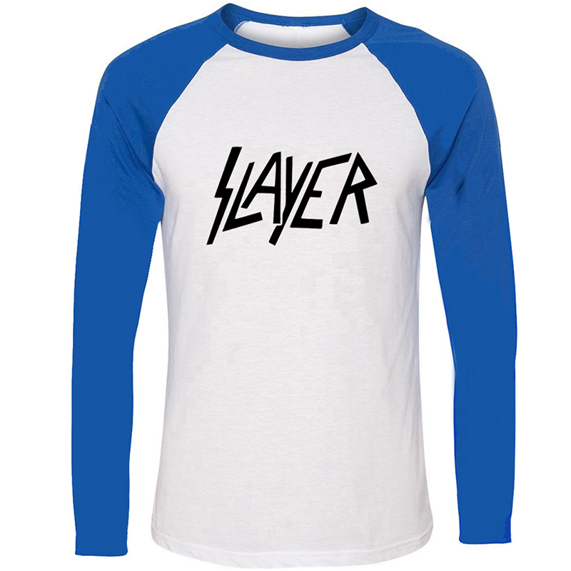 Slayer <font><b>Blink</b></font> <font><b>182</b></font> Punk Band Linkin Park LP Design Mens Guys Printing T <font><b>Shirt</b></font> Graphic Tee Long Sleeve Cotton Tshirts image