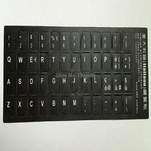 50 шт., итальянский алфавит, обучающая клавиатура, раскладная наклейка для ноутбука, настольного компьютера, клавиатура 10 дюймов или выше, пл...