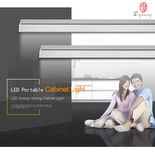 Dimmable Brightness LED Cabinet Bar Strip Light AC 110/220 High Lumin Bathroom Bookcase Kitchen Multi-Purpose Free Ship