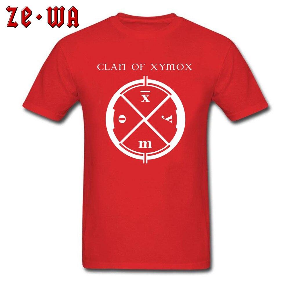 The Clan of Medusa 6104 Round Neck T Shirts Summer Summer Tops T Shirt Short Sleeve 2018 New Fashion 100% Cotton Tee-Shirt Men's The Clan of Medusa 6104 red