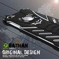 Para iphone 6 4,7 polegadas-apenas r série batman poeira pesada armadura de metal de alumínio de luxo caso de telefone para o iphone 6 s