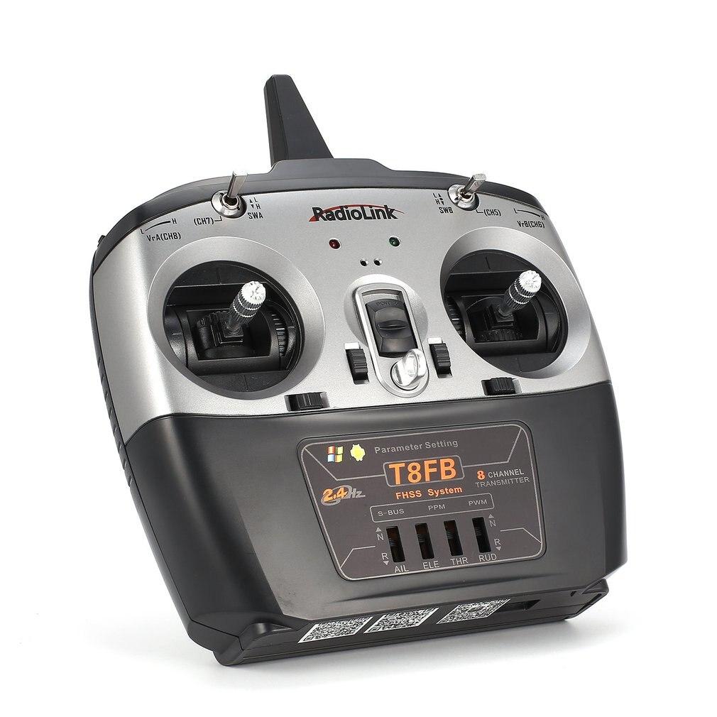 Radiolink T8FB 8CH transmetteur Radio télécommande avec récepteur R8EF pour pour avion RC hélicoptère Drone Mode 2 modèle à distance