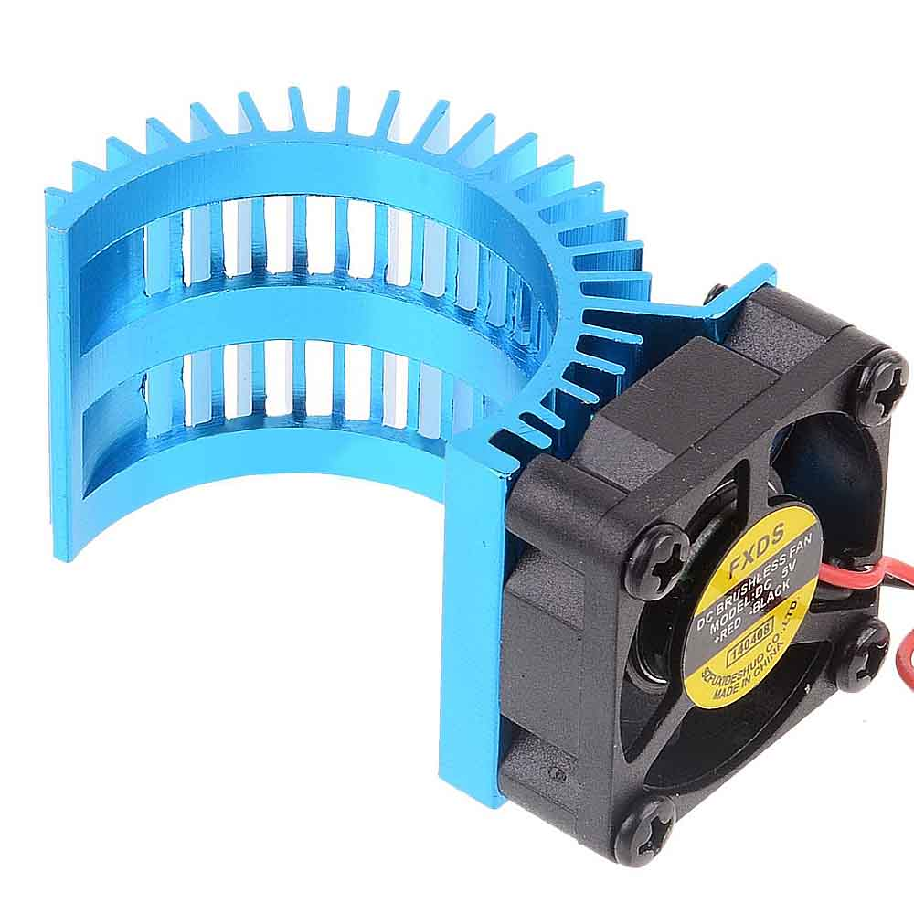 540 Motors Heat Sink Fan Cooling 550 Brush For Rc