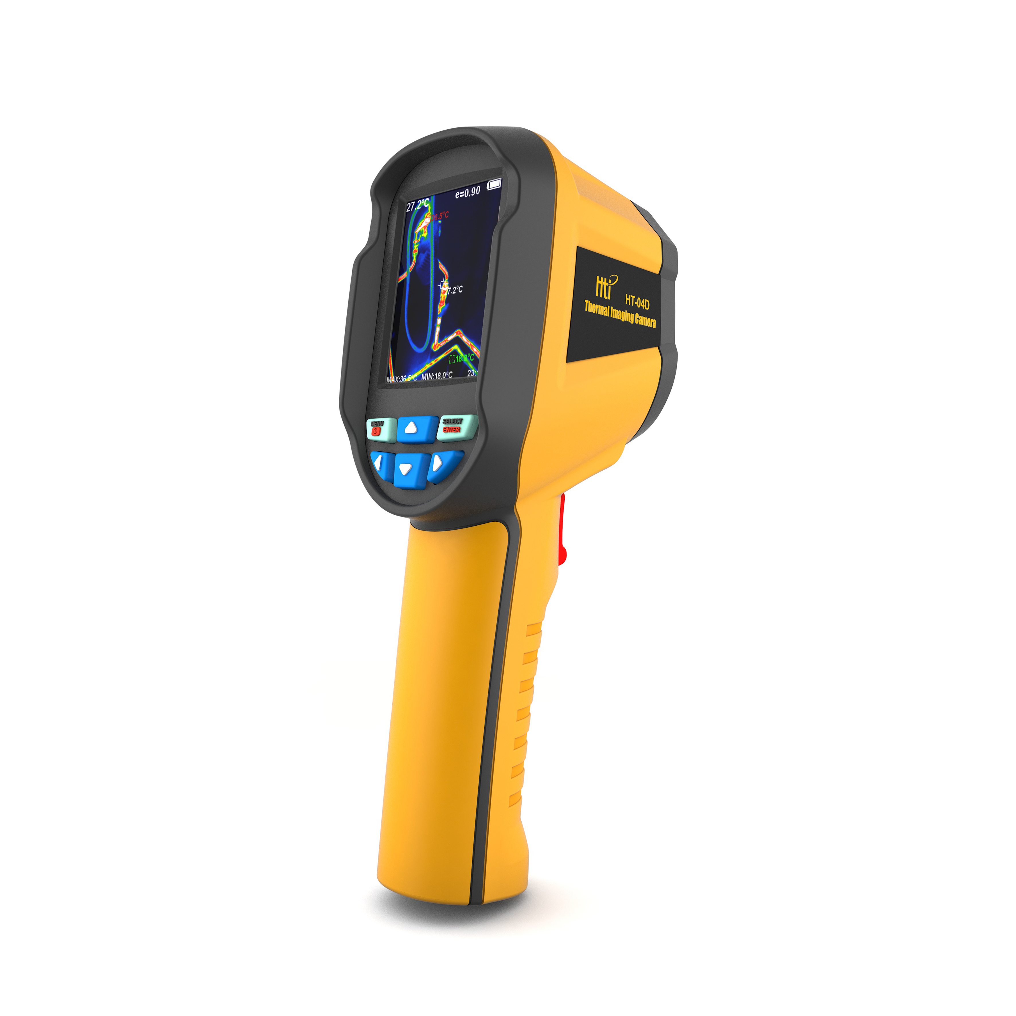Professional Handheld Thermal Imaging Camera 2 4 HT 04D Portable Infrared Thermometer IR Thermal Imager Infrared