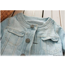 New 2018 Ladies Denim Jackets Outwear Jeans Coat Classical Jackets Women Fashion Jeans Coats Rivets Female Jackets