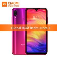 Küresel ROM Xiaomi Redmi Not 7 4 GB 64 GB Snapdragon 660 Cep Telefonu Octa Çekirdek 4000 mAh 6.3