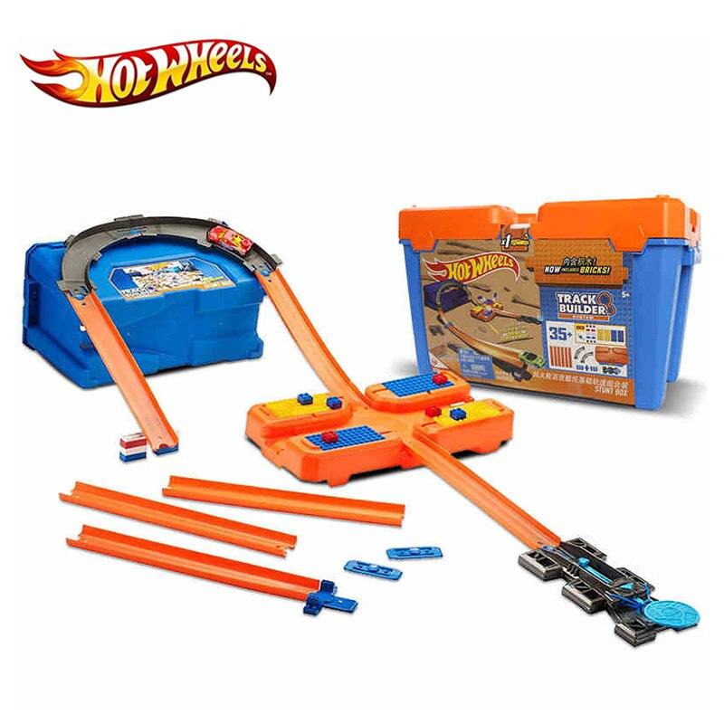 Hot Wheels Cars 3 Track Set Multifunctional Car Carros Brinquedos Diecast Hotwheels Kids Toys For Children