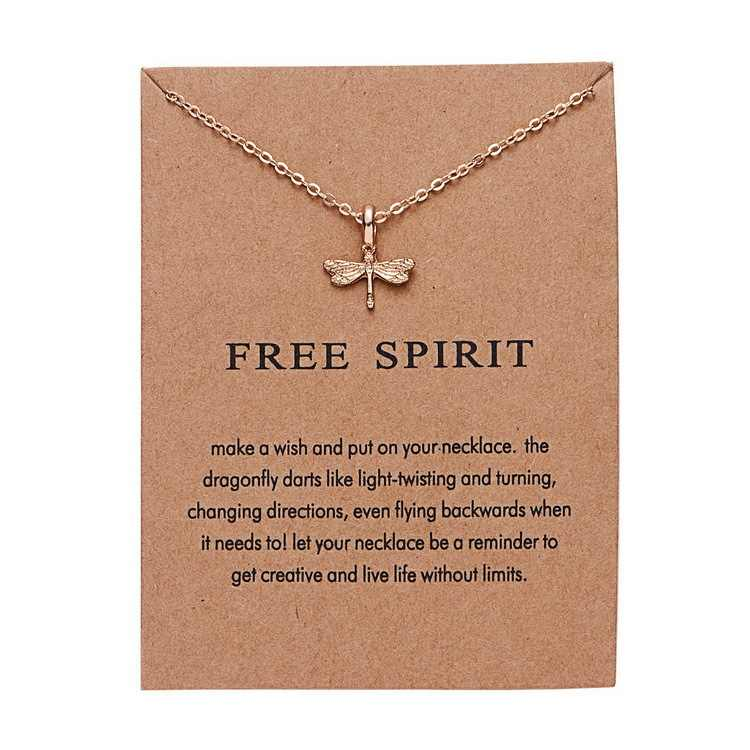 Liste&Luke Craft Paper Fashion Gold-color Good Vibes Only Sun Necklaces & Pendants For Women Jewelry