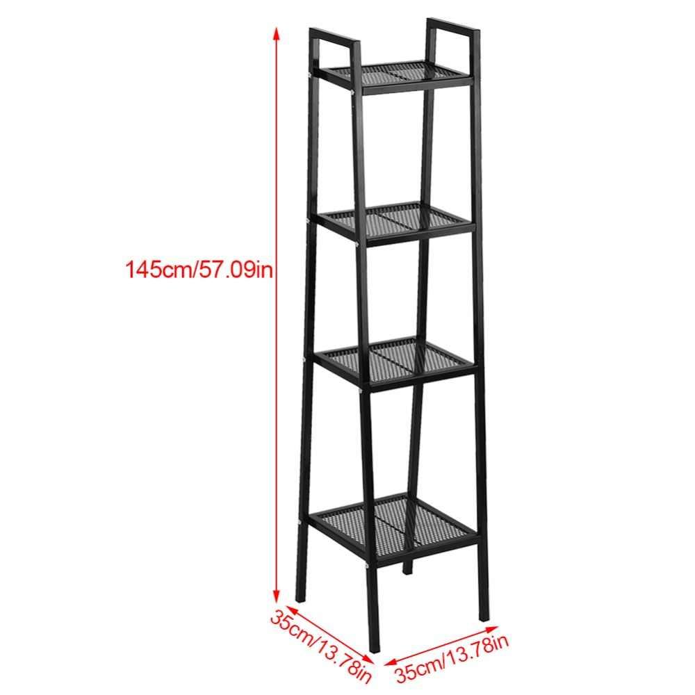 4 уровня Этажерка Блок книжная полка книжный шкаф книга открытый шкаф Стенд 35*35*145 см