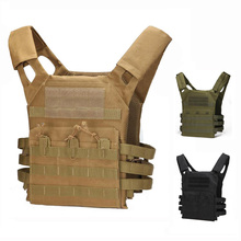 Army Tactical Vest Men Military Hunting Vest Camouflage Vest Body Armor Molle Outdoor Sport Airsoft Combat Equipment 9 Colors new outlife camouflage hunting military tactical vest wargame body molle armor hunting vest cs outdoor jungle equipment
