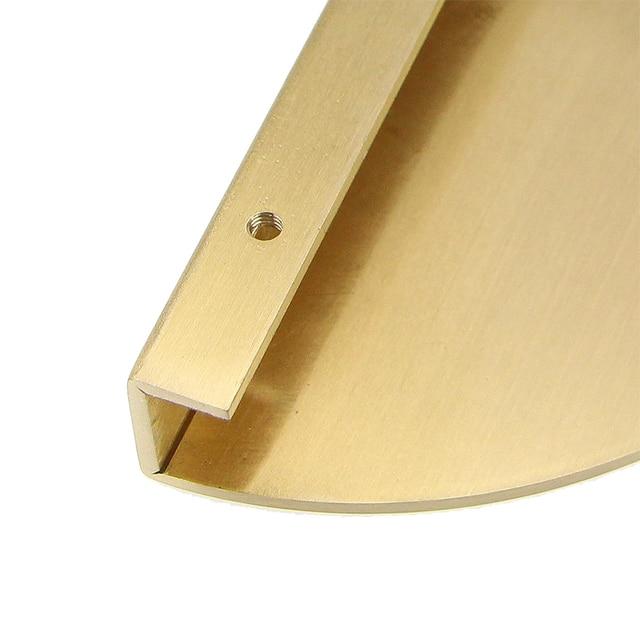 2 pieces set Round Solid Brass Handles Furniture 3