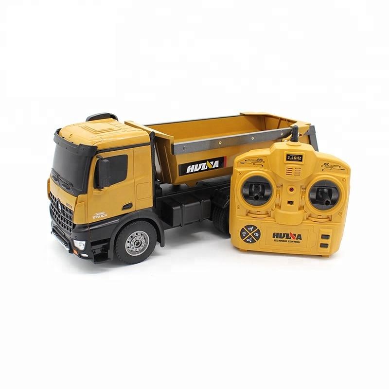 Huina 1573 RTR 2,4 GHz 10 kanal 1:14 Fernbedienung RC Lkw Dump selbst entladen metall Auto Demonstration LED licht RC Spielzeug-in RC-Lastwagen aus Spielzeug und Hobbys bei  Gruppe 1