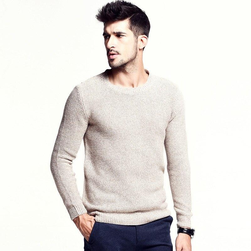 2015 Fall Winter Classic design male sweater menu0026#39;s Pullover Casual men Clothing Cashmere Coarse ...
