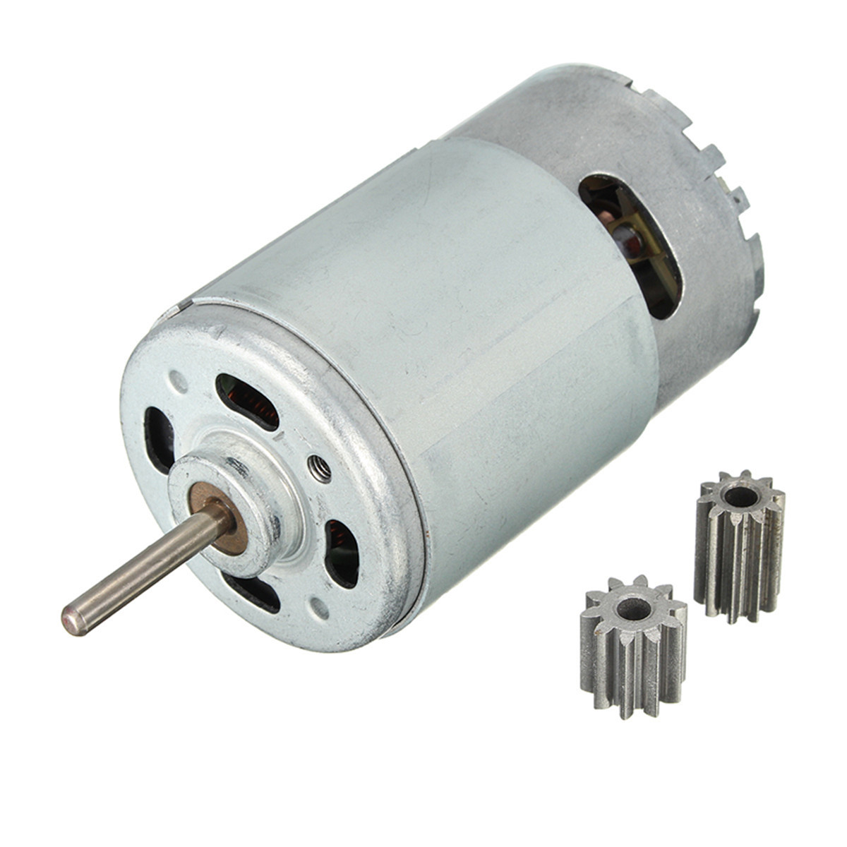 best price dc 12v 30000 rpm motor gears rotary speed gear box motor for kids rc ride on car spare parts 10teeth 12 volt