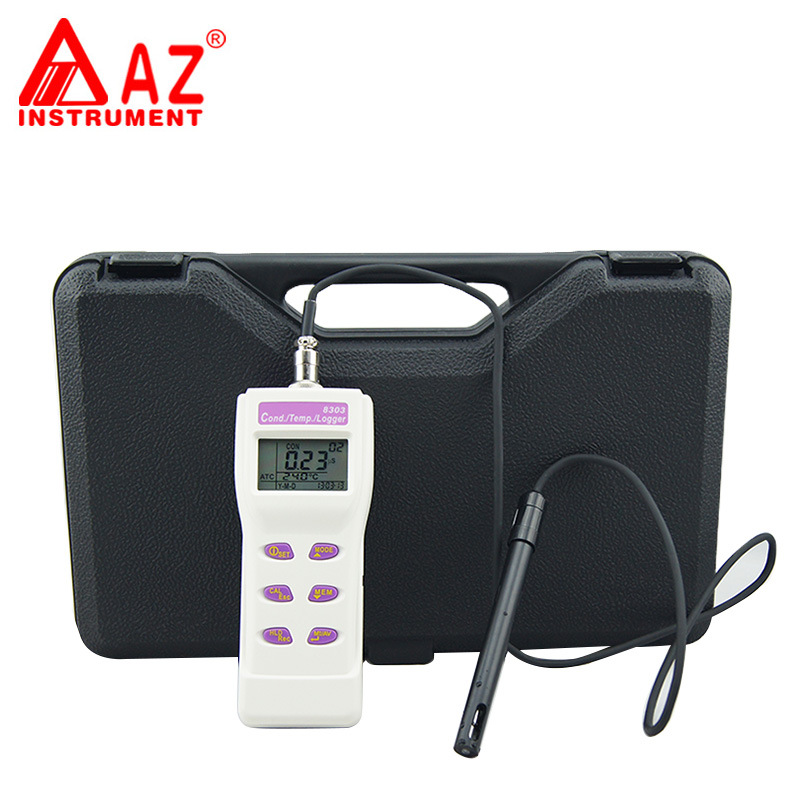 AZ8303 Portable Digital Conductivity Cond. Memory Meter Water Quality Tester (4)