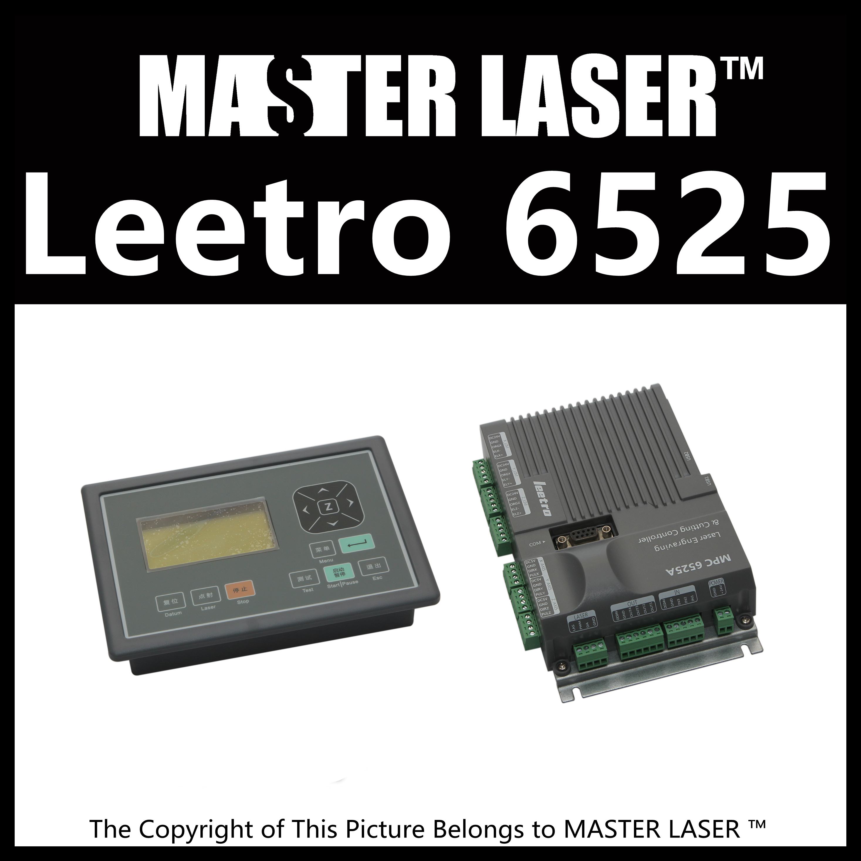 Economic leetro mpc 6525A 6535  Motion Controller for CO2 Laser Cutting Machine Upgrade of 6515 erin muschla berry teaching the common core math standards with hands on activities grades 3 5