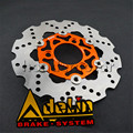 motorcycle brake disc floating 220mm disc cnc aluminum alloy stainless steel for yamaha scooter modified