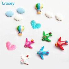 Милые декоративные наклейки воздушный шар в виде облака самолета