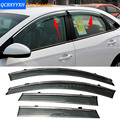 Car Styling Awning Shelter Window Visor For Buick Encore Envision Regal Verano Sedan Excelle GT/XT 2009-2016 Rain Shield Cover