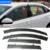 Car Styling Toldo Refugio Visera de la Ventana Para Encore Buick Envision Regal verano Sedán Excelle GT/XT 2009-2016 protección contra la Lluvia Cubierta