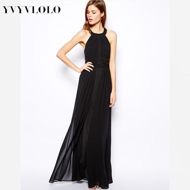 2017 New summer Women Dress o-neck high waist Sexy Peplum Dress long Maxi  Dress 7873325cc755