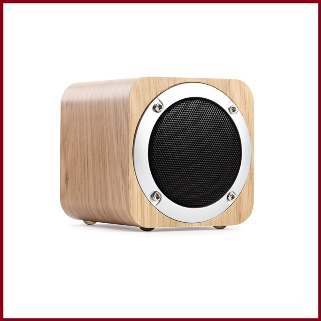 Sugar Cube Mini Altavoz Portable Del Bluetooth De Madera