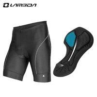 Lambda Clothing Cycling Shorts Men Mountain Bike Mtb Shorts Gel 3d Padded Gym Running Breathable Cube