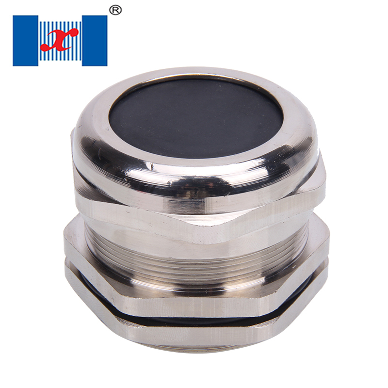 1pcs M72*2 Nickle Brass Cable Gland Waterproof Metal Connector IP681pcs M72*2 Nickle Brass Cable Gland Waterproof Metal Connector IP68