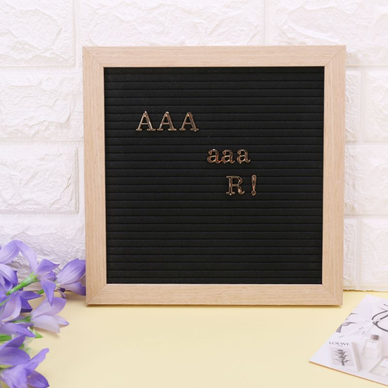 Characters For Felt Letter Board 250 Piece Numbers For Changeable Letter Board