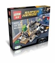 LEPIN 07017 Super Hero Batman VS Super Man Dawn of Justice DC Comic Minifigures Building Block Compatible with Legoe Brick Toys