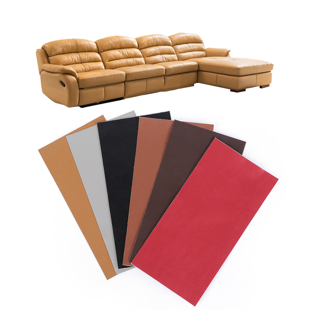 Leather Patch For Sofa: 10x20cm Sofa Repairing Leather Self Adhesive Patches