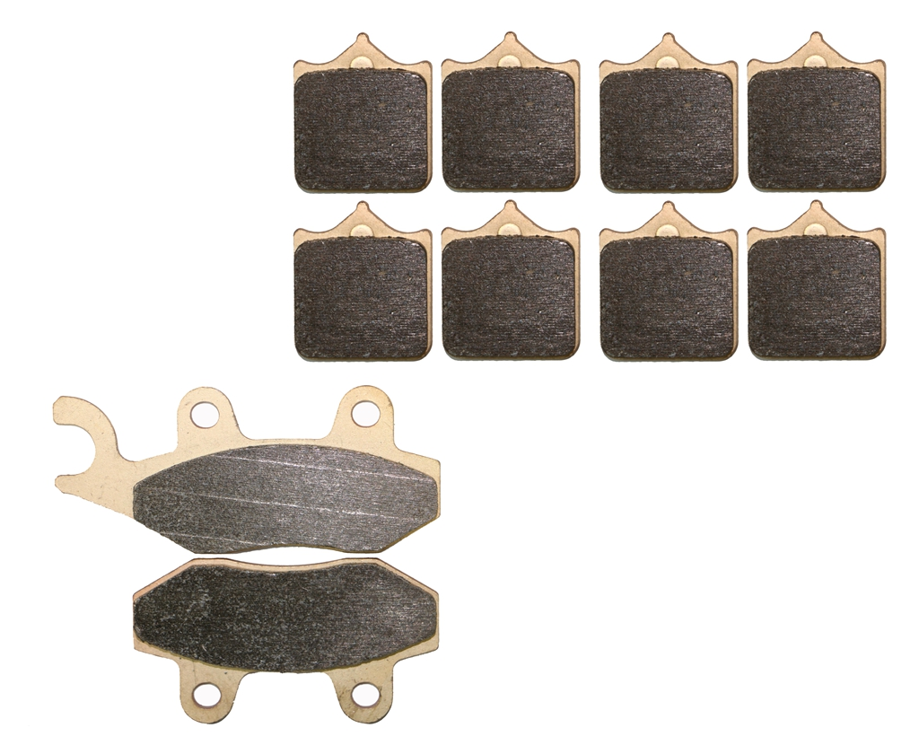 Triumph Speed Triple 1050 Brake Disc Pads Front R//H Goldfren 2008-2014