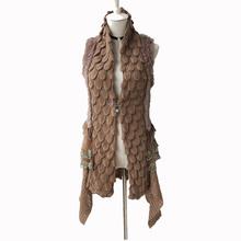 natural rabbit fur shawl for women genuine fur vest slim open stitch capes and wraps for