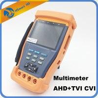 Новый 3.5 ЖК дисплей видеонаблюдения Камера PTZ сетевой кабель Тесты er встроенный фот AHD + TVI CVI HD DVR системы видеонаблюдения