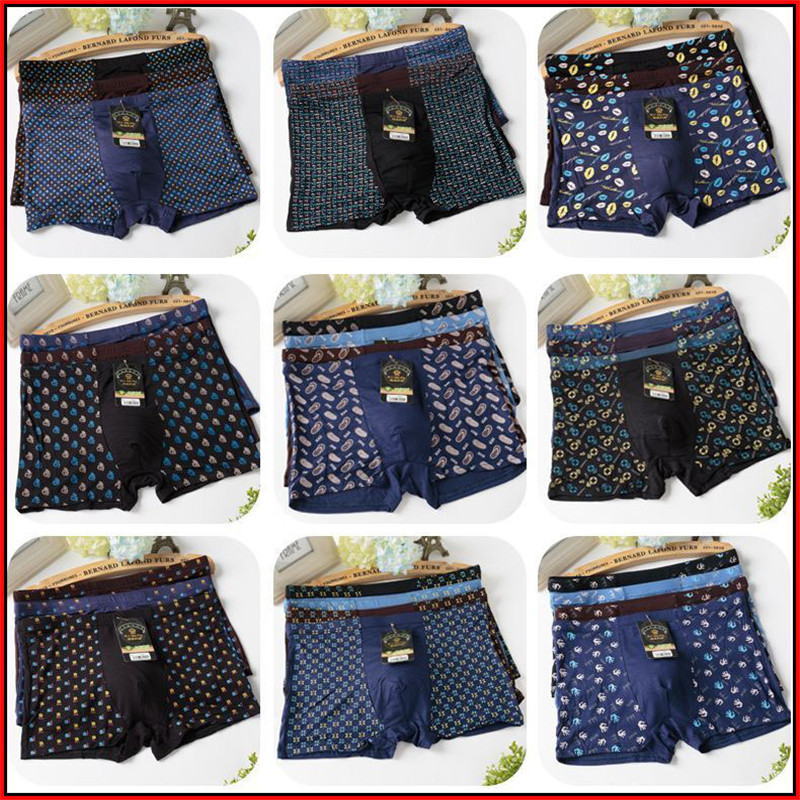 TECHOME 10pcs/lot Cotton Man Underwear Boxer Homme Boxershorts Calzoncillos Hombre
