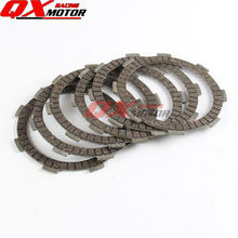 ZS 155Z Engine ZONGSHEN ZS 150 160cc Engine Parts Clutch Friction Plates Kit 6pcs Clutch Friction Plates High quality a set friction plates paper based plate