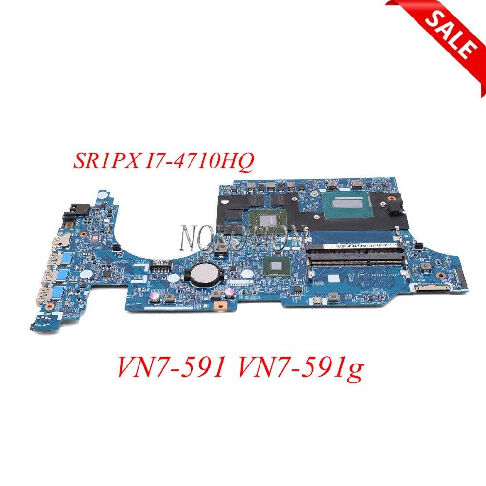NOKOTION NBMQL11002 NB. MQL11.002 448.02W05.0011 carte Principale Pour acer VN7-591 VN7-591g ordinateur portable mothebroard GTX860M SR1PX I7-4710HQ