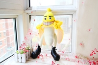 Creative 1pc Banana Evil People Hold Pillow Doll Plush Toy Girls Birthday Gifts