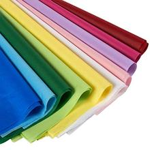METABLE 120 Sheets 10 Colors Tissue Paper Bulk Wrapping Art Rainbow for Craft Floral Birthday Party Festival Gift