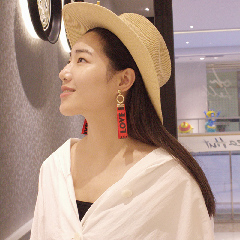 pink brand white s arrival women fashion gems earrings item with colourful sweet stud opalescence earring new metal
