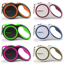HELLOMOON Amazon Hot sale pet supplies automatic retractable leashes boutique 6 colors dog
