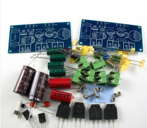 HOOD JLH 1969 Class A Power amp kit 2 channel amplifier 10W+10W