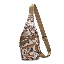 Mens Shoulder Messenger Bag Casual Oxford Cloth Wearable Waterproof Chest Multicolor Pouch