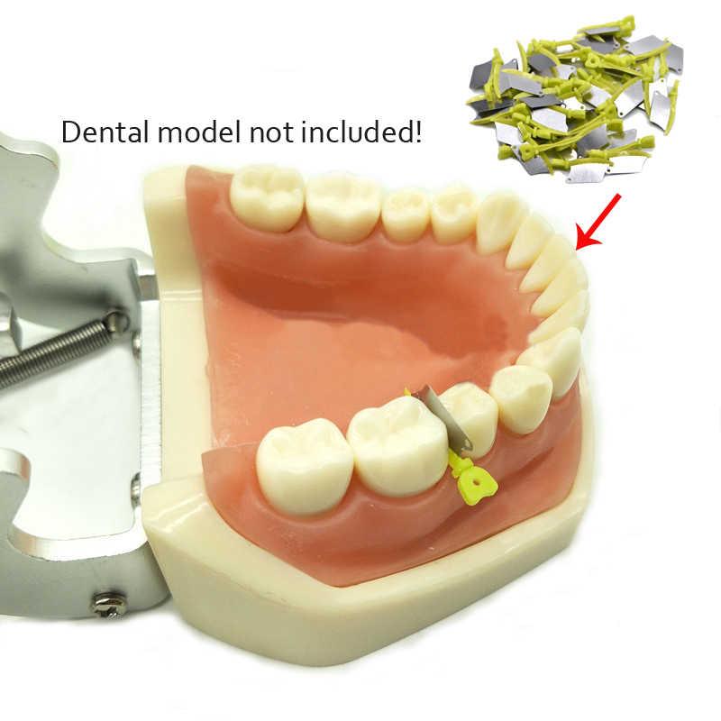 Nha Khoa Thủ Răng Interproximal Nhựa Nêm Dao Với Bảo Vệ Răng Thép Ma Trận