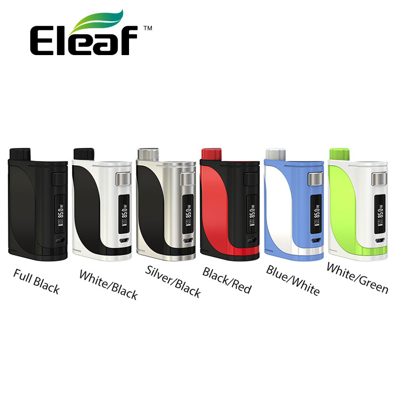 100% Original 85W Eleaf IStick Pico 25 TC MOD Without 18650 Battery 0.91-inch Screen Vape Mod Fit Melo 3 Tank/Melo Mini Atomizer