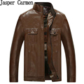 Man Leather Jackets Pu Leather Jaqueta Masculinas Inverno Couro Jacket Men Jaquetas Men's Winter Leather Jacket 49hfx