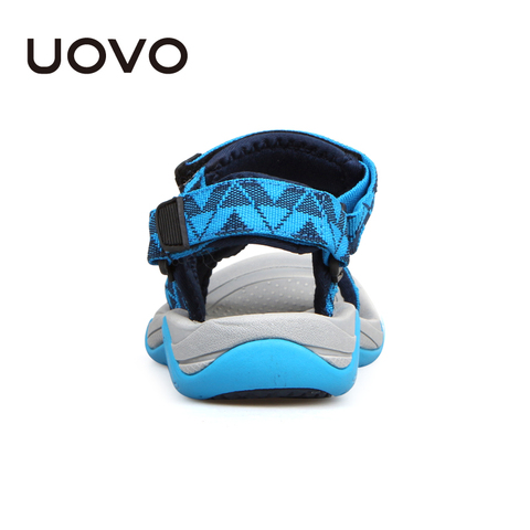 UOVO 2019 Kids Sandals Open Toe Boys Sandals Textile Children Sandals Light-weight Sole Little Boys Summer Shoes size 28#-35# Islamabad