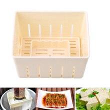DIY Plastic Tofu Press Mould Homemade Tofu Mold Soybean Curd Tofu Making Mold with Cheese Cloth Kitchen Cooking Tool Set стоимость