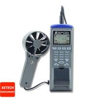 A Velocidade Do ar  Umidade  temperatura  Temperatura de Bulbo Úmido  Fluxo de ar Datalogger AZ9871